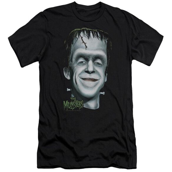The Munsters Hermans Head Premuim Canvas Adult Slim Fit