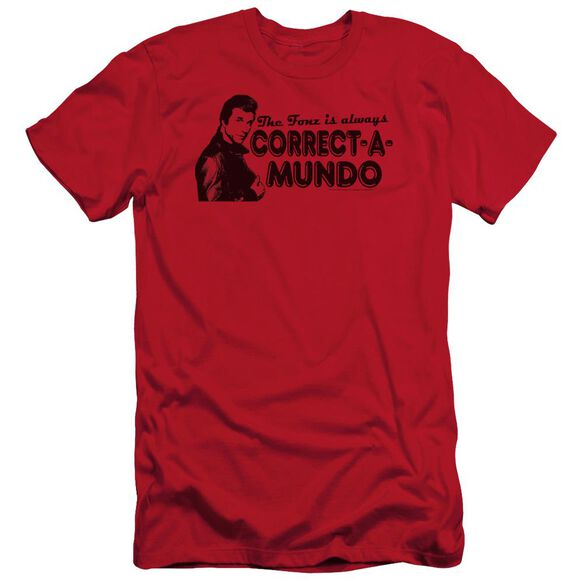 Happy Days Correct A Mundo Short Sleeve Adult T-Shirt