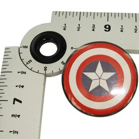 Captain America Movie Shield Button