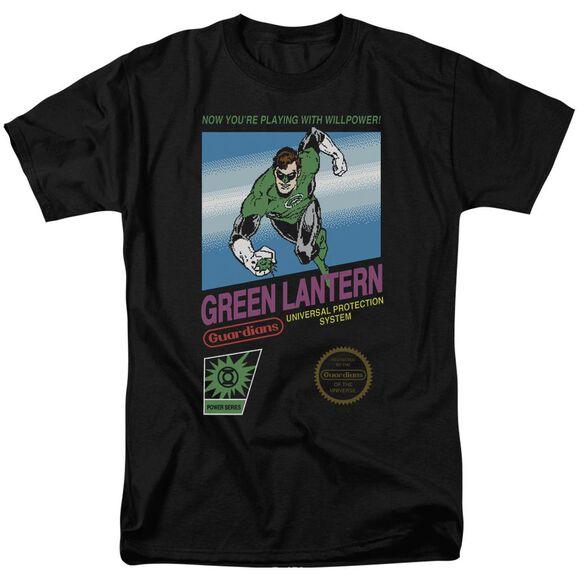 Green Lantern Box Art Short Sleeve Adult T-Shirt