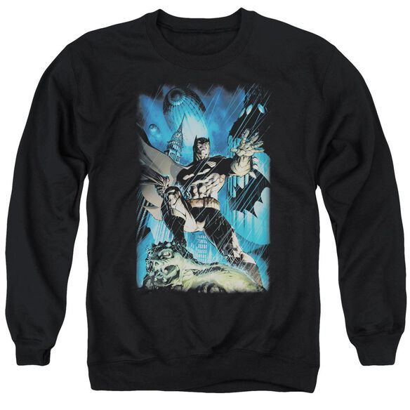 Batman Stormy Dark Knight Adult Crewneck Sweatshirt