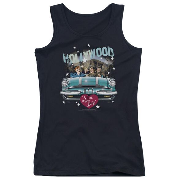 I Love Lucy Hollywood Road Trip Juniors Tank Top