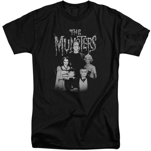 The Munsters Family Portrait Short Sleeve Adult Tall T-Shirt