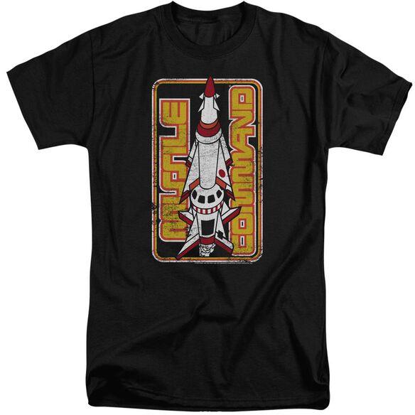 Atari Missile Short Sleeve Adult Tall T-Shirt
