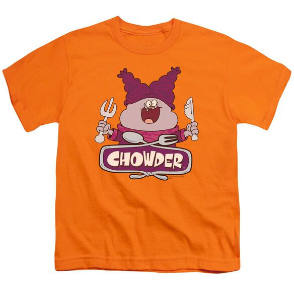 Chowder Logo Short Sleeve Youth T-Shirt