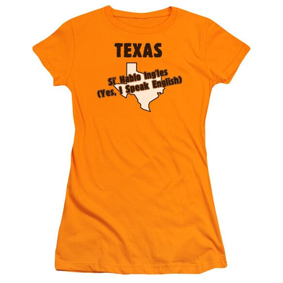 Texas Short Sleeve Junior Sheer T-Shirt