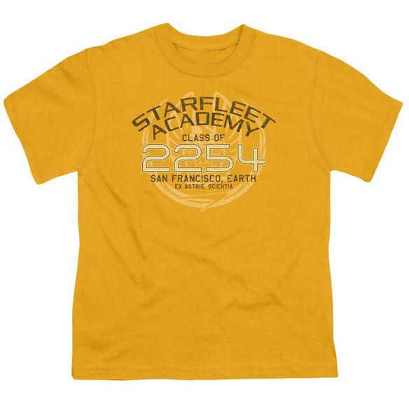 Star Trek Kirk Graduation Short Sleeve Youth T-Shirt