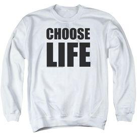 Wham Choose Life Adult Crewneck Sweatshirt