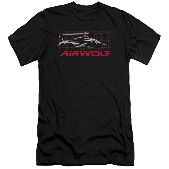 Airwolf Grid Premuim Canvas Adult Slim Fit