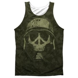 Full Metal Jacket War For Peace Adult Poly Tank Top