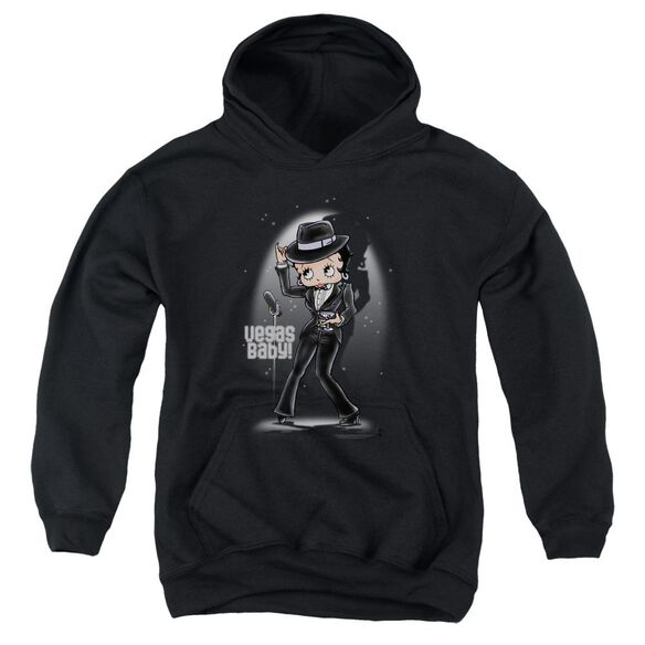 Betty Boop Vegas Baby Youth Pull Over Hoodie