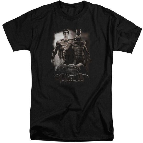Batman Vs Superman Dawn Short Sleeve Adult Tall T-Shirt
