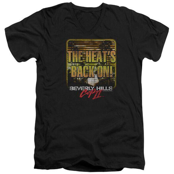 Bhc Ii The Heats Back On Short Sleeve Adult V Neck T-Shirt