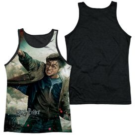 Harry Potter Harry Vs Voldemort Adult Poly Tank Top Black Back