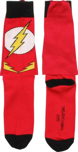 Flash Suit Caped Crew Socks