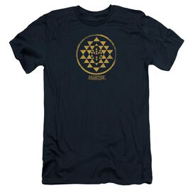 Bsg Gold Squadron Patch Short Sleeve Adult T-Shirt