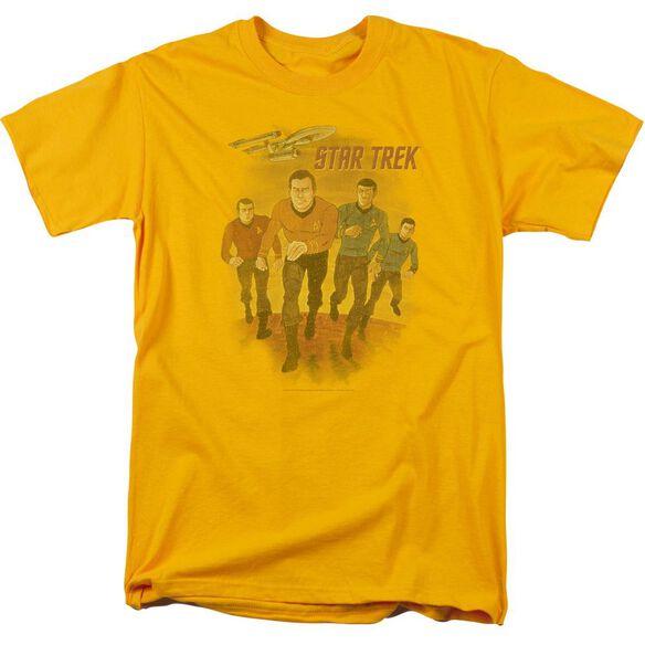 Star Trek Animated Short Sleeve Adult T-Shirt