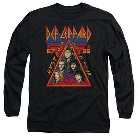 Def Leppard Hysteria Tour Long Sleeve Adult T-Shirt