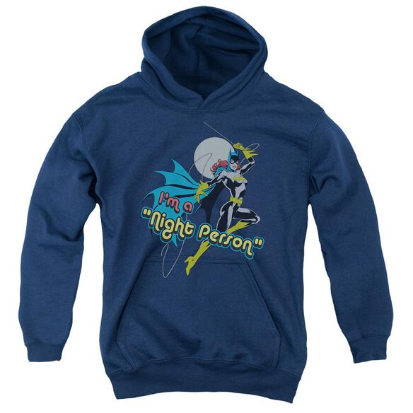 Dc Night Person Youth Pull Over Hoodie