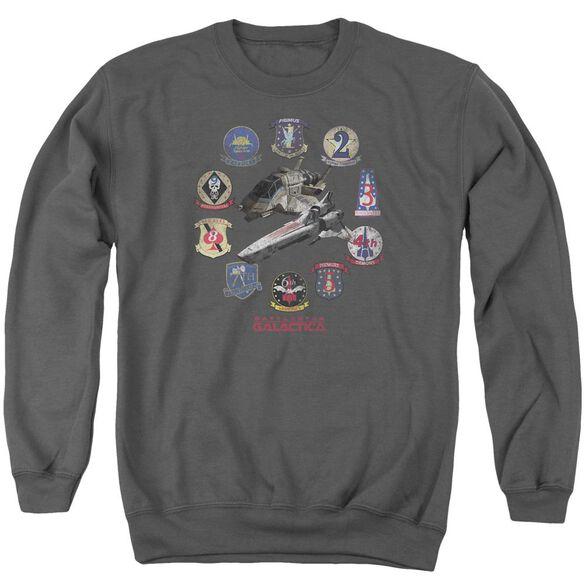 Bsg Badges Adult Crewneck Sweatshirt