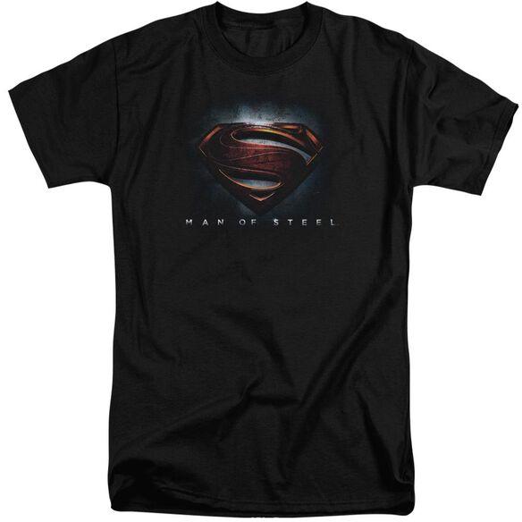 Man Of Steel Man Of Steel Shield Short Sleeve Adult Tall T-Shirt