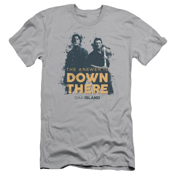 The Curse Of Oak Island Down There Short Sleeve Adult T-Shirt