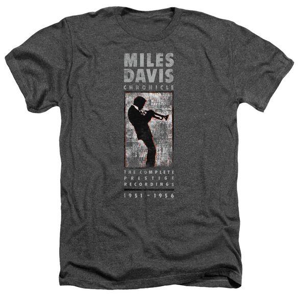 Miles Davis Miles Silhouette Adult Heather