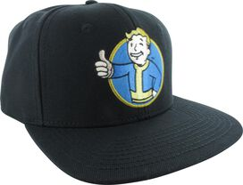 Fallout Vault Boy Snapback Hat