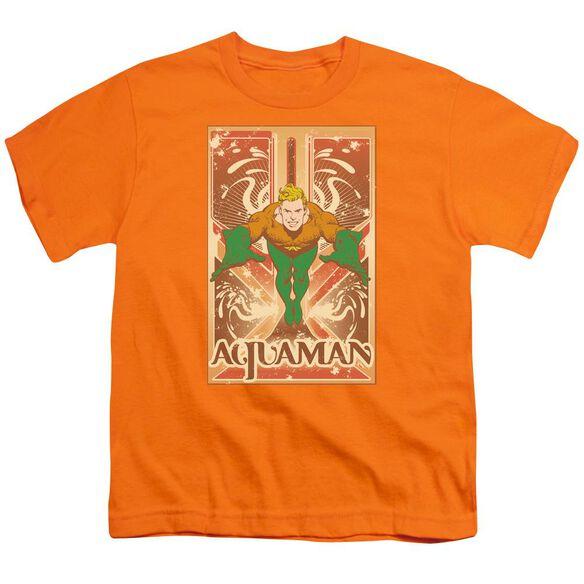 Dc Aquaman Short Sleeve Youth T-Shirt