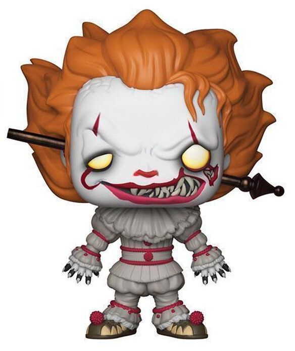Funko Pop Movies: IT Pennywise with Rod