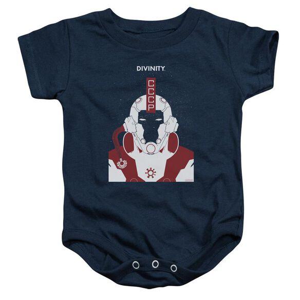 Valiant Divinity Helmet Infant Snapsuit Navy