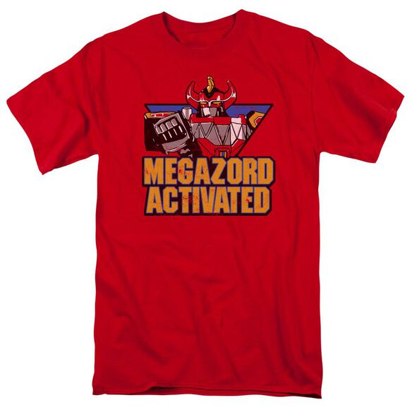 Power Rangers Megazord Activated Short Sleeve Adult T-Shirt