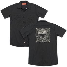 Cbgb Front Door(Back Print) Adult Work Shirt