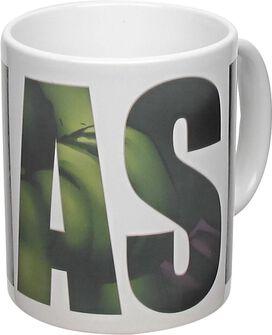 Incredible Hulk SMASH Heat Changing Mug