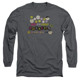 Dubble Bubble Razzles Retro Box Long Sleeve Adult T-Shirt