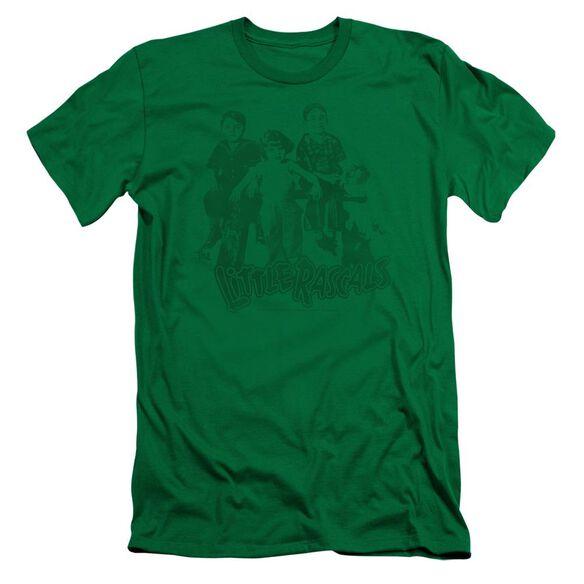 Little Rascals The Gang Short Sleeve Adult Kelly T-Shirt