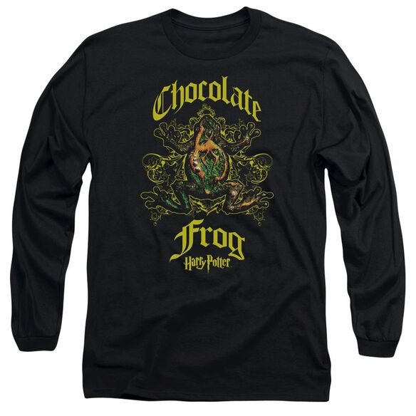 Harry Potter Chocolate Frog Long Sleeve Adult T-Shirt