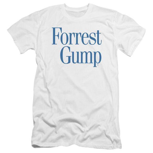 Forrest Gump Logo Premuim Canvas Adult Slim Fit