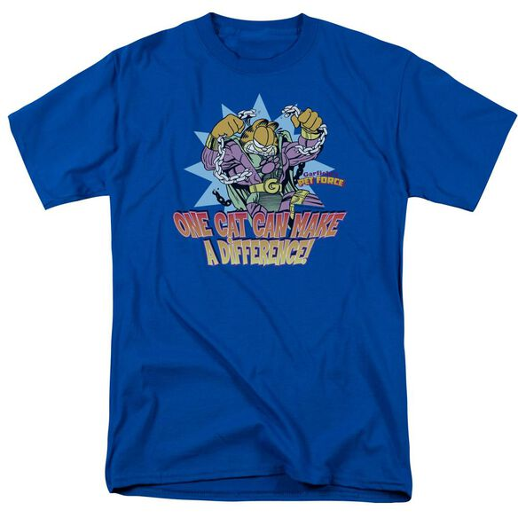 GARFIELD MAKE A DIFFERENCE-S/S ADULT T-Shirt