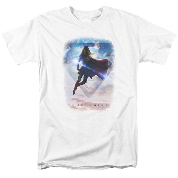 Supergirl Endless Sky Short Sleeve Adult T-Shirt