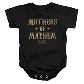 Sons Of Anarchy Mothers Of Mayhem Infant Snapsuit Black