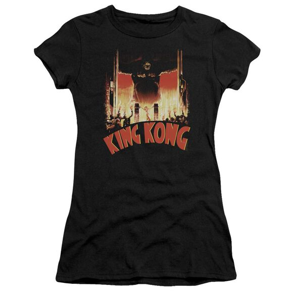 King Kong At The Gates Premium Bella Junior Sheer Jersey