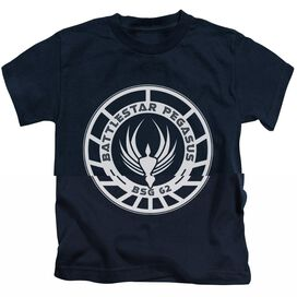BSG PEGASUS BADGE - S/S JUVENILE 18/1 - NAVY - T-Shirt