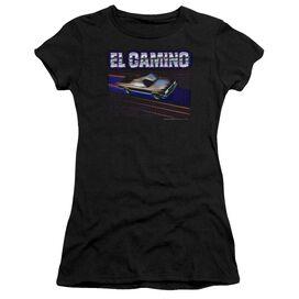 Chevrolet El Camino 85 Short Sleeve Junior Sheer T-Shirt