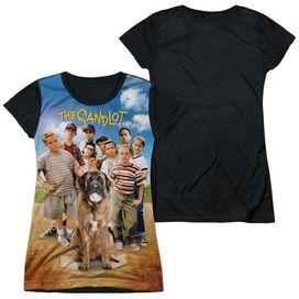 Sandlot Sandlot Poster Short Sleeve Junior Poly Black Back T-Shirt