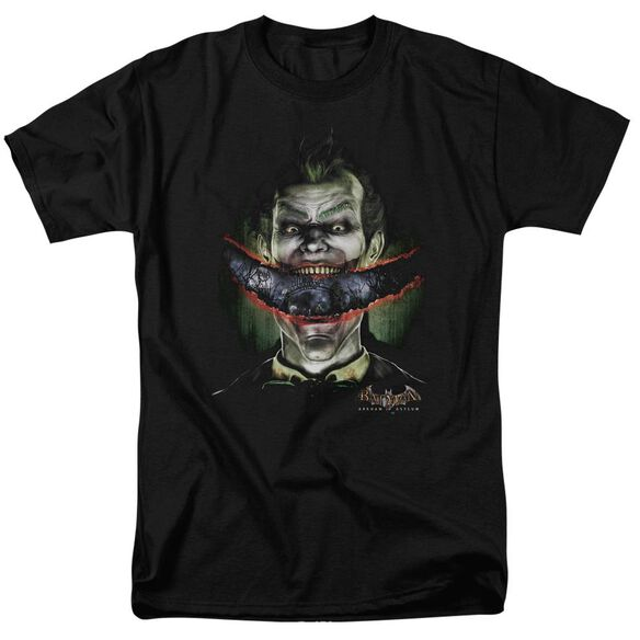 Batman Aa Crazy Lips Short Sleeve Adult T-Shirt