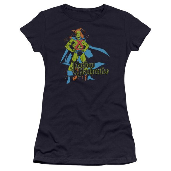 Dc Martian Manhunter Premium Bella Junior Sheer Jersey