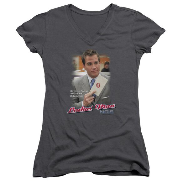 Ncis Ladies Man Junior V Neck T-Shirt