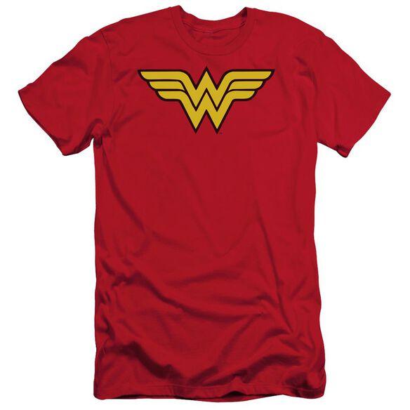 Dc Wonder Woman Logo Short Sleeve Adult T-Shirt