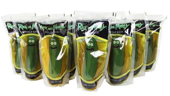 Pickle Rick - Pickle in a Pouch 12 count case
